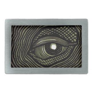 Engraved Eye Belt Buckles