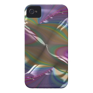 Engraved Flagship Fractal iPhone 4 Case