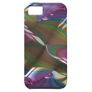 Engraved Flagship Fractal iPhone 5 Case