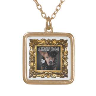 "Enhance Any Outfit with ""Show Dog"" Pittie Necklace"