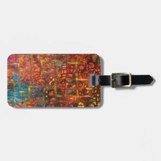 Enigma Luggage Tag