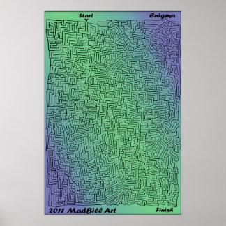 Enigma Maze Poster