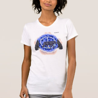 Enigmatic Wolves Ladies Petite Shirt