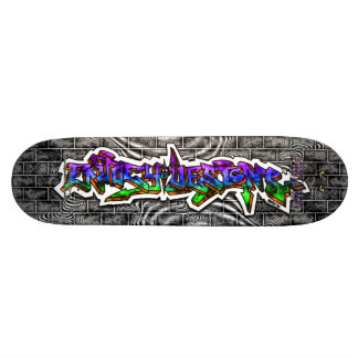 Enjoey Designs 03 ~ Wild Style Graffiti Art Deck Skate Decks