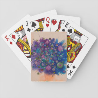 Enjoy an artistic set of playing cards !