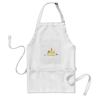 enjoy every sweet time apron