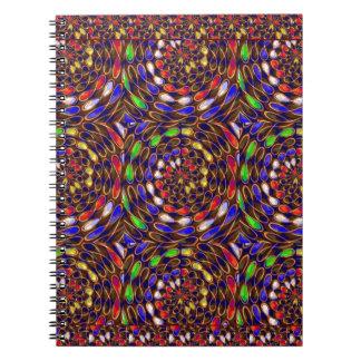 Enjoy INFINITY Art Circles Chakra Energy Healing Spiral Note Book