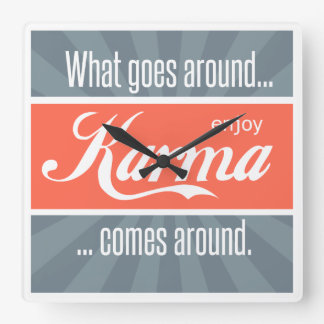 Enjoy Karma Wall Clocks