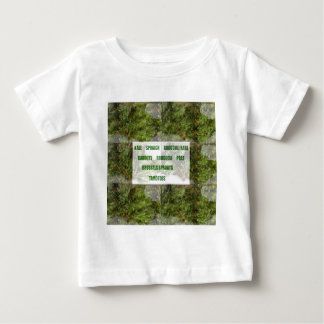ENJOY LEAFY GREEN VEGETABLES HEALTHY CHOICES BABY T-Shirt
