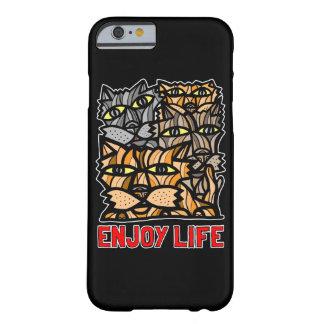 """Enjoy Life"" BuddaKats Glossy Phone Case"