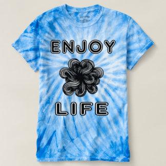 """""""Enjoy Life"""" Women's Cyclone Tie-Dye T-Shirt"""