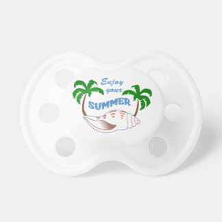 Enjoy Summer Applique Pacifiers