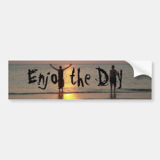 Enjoy the Day Bumper Sticker