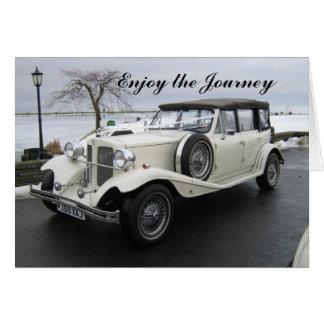 Enjoy the journey car card