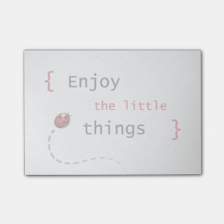 Enjoy The Little Things 2 Post-it Notes