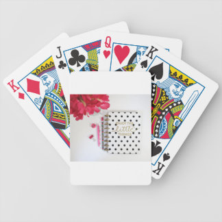 Enjoy the Little Things Bicycle Playing Cards