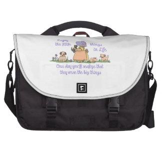 ENJOY THE LITTLE THINGS LAPTOP BAG