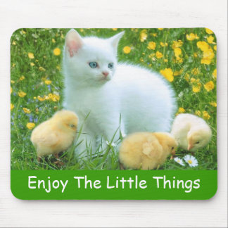 Enjoy The Little Things Mouse Pad