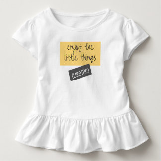 Enjoy the Little Things Toddler Tee
