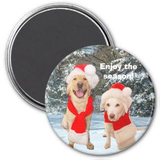 Enjoy the season! magnets