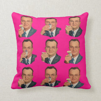 Enjoy the Smoke, Enjoy the Pack print Cushion