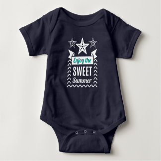 Enjoy the Sweet Summer. Baby Bodysuit