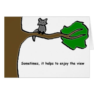 Enjoy The View Card