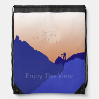Enjoy the View Drawstring Bag