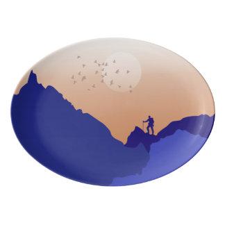Enjoy the View Porcelain Serving Platter