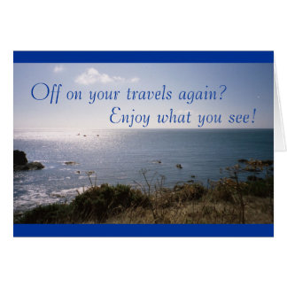 Enjoy What You See! (farewell) Card