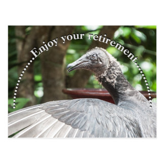Enjoy your retirement... postcard
