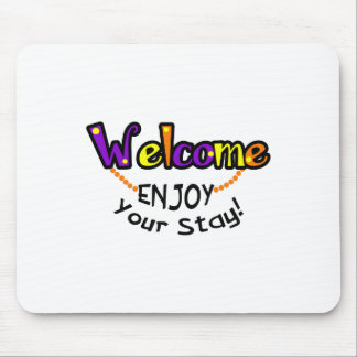 ENJOY YOUR STAY MOUSE PADS