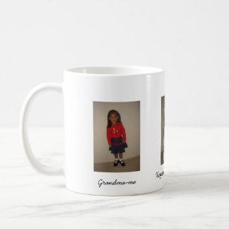 Enjoy your tea., Happy Mothers' Day, Grandma-ma Coffee Mug