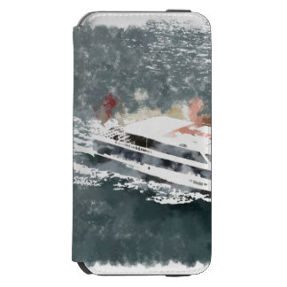 Enjoying on a fast boat incipio watson™ iPhone 6 wallet case