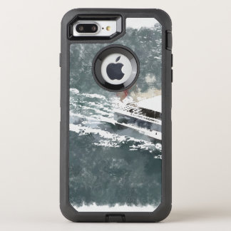 Enjoying on a fast boat OtterBox defender iPhone 8 plus/7 plus case