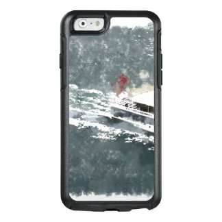 Enjoying on a fast boat OtterBox iPhone 6/6s case