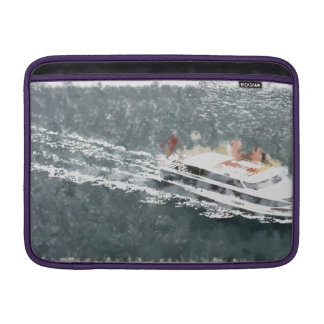 Enjoying on a fast boat sleeve for MacBook air