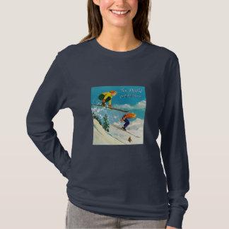 Enjoying ski T-Shirt