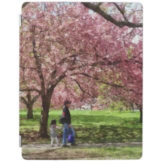 Enjoying the Cherry Trees iPad Cover