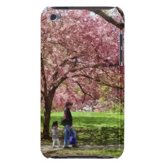 Enjoying the Cherry Trees iPod Touch Case-Mate Case