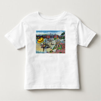 Enjoying the Saratoga Spa Recreation Center Toddler T-Shirt
