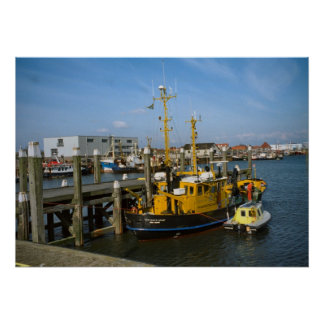 Enkhuizen, Modern port vessels and facilities Posters