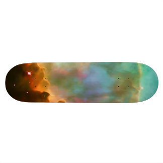 Enlarged Region of The Omega Nebula Skateboard