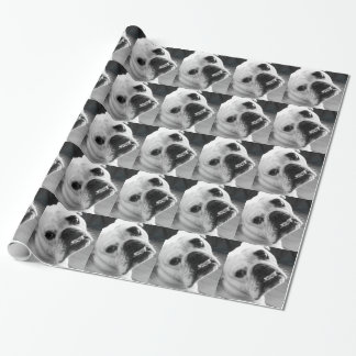 Enlgish Bulldog Stationary Gift Wrap