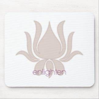 Enlighten Lotus Mouse Pad