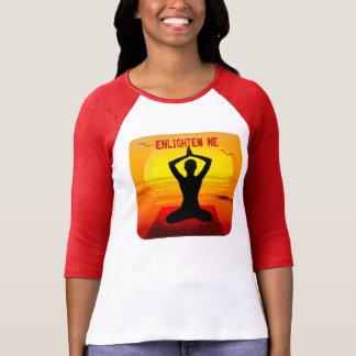 """Enlighten Me"" Yoga T-Shirt"