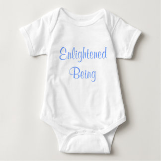 Enlightened Being funny baby onzie Baby Bodysuit
