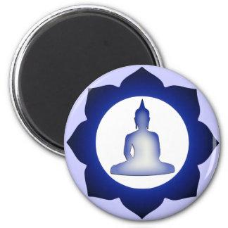 Enlightened Buddha Refrigerator Magnet