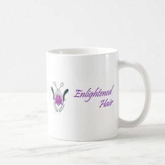 Enlightened Hair Basic White Mug