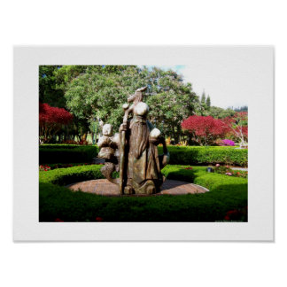Enlightened on Lanai with Confucius Print